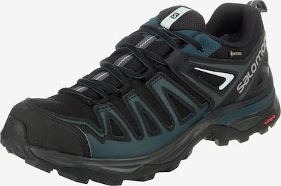 SALOMON Trekkingschuhe 'X Ultra 3 Prime' in smaragd / schwarz, Produktansicht