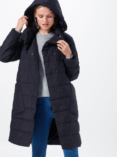 VILA Manteau d'hiver 'Camisha' en noir, Vue avec modèle