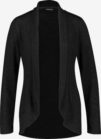 TAIFUN Shirtjacke in schwarz, Produktansicht