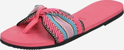 HAVAIANAS Zehentrenner 'HAV. YOU ST. TROPEZ FITA' in pink, Produktansicht
