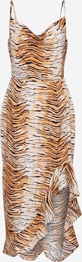 Missguided Kleid 'TIGER' in braun: Frontalansicht