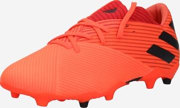 Chaussure de foot 'NEMEZIZ 19.2' ADIDAS PERFORMANCE en rouge