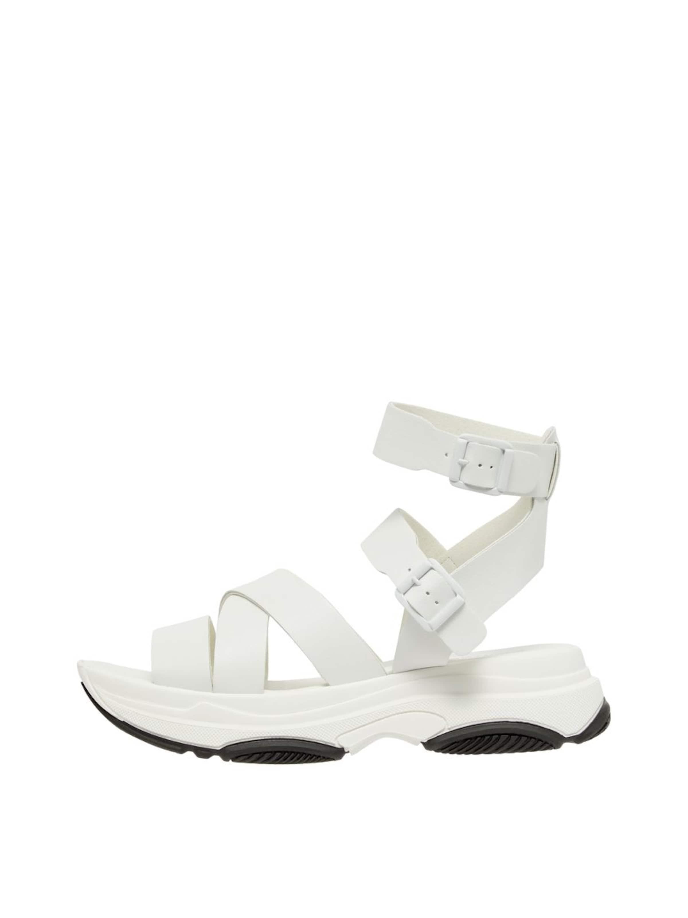 Sandales En Blanc Bianco À Lanières TXx1twIqd