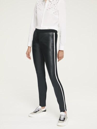 heine Leggings 'Aleria' in schwarz, Modelansicht