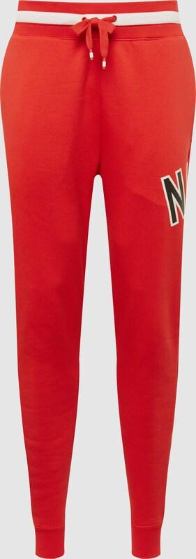 Nike Sportswear Hose 'M NSW NIKE AIR PANT FLC' in rot   schwarz  Neu in diesem Quartal