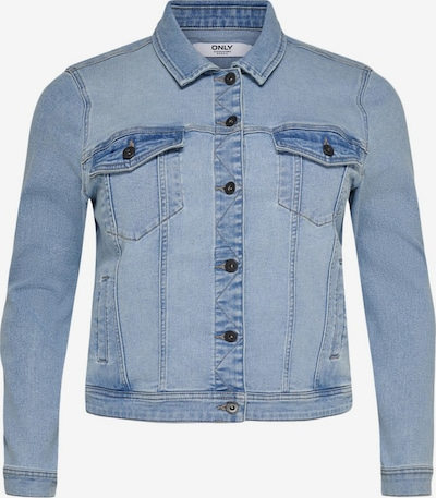 ONLY Carmakoma Jeansjacke in blue denim, Produktansicht
