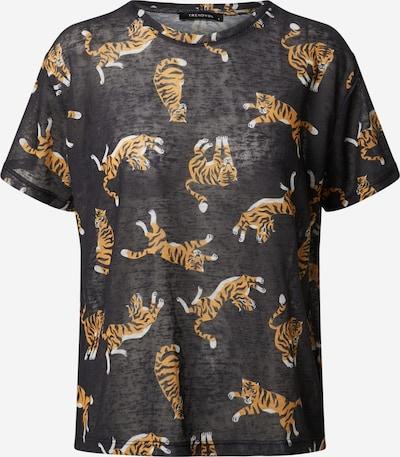 Trendyol T-shirt en noir, Vue avec produit
