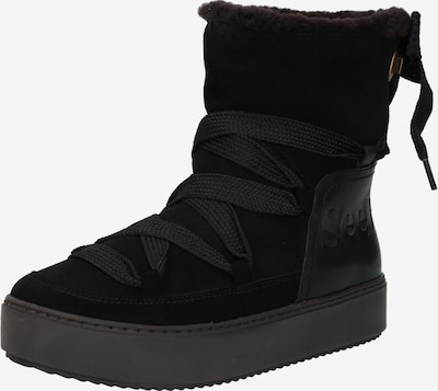 See by Chloé Śniegowce w kolorze czarnym, Podgląd produktu