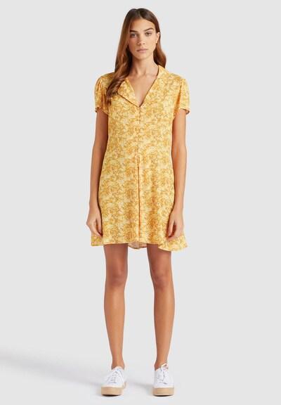 khujo Jumpsuit ' NADIRA ' in de kleur Geel, Modelweergave