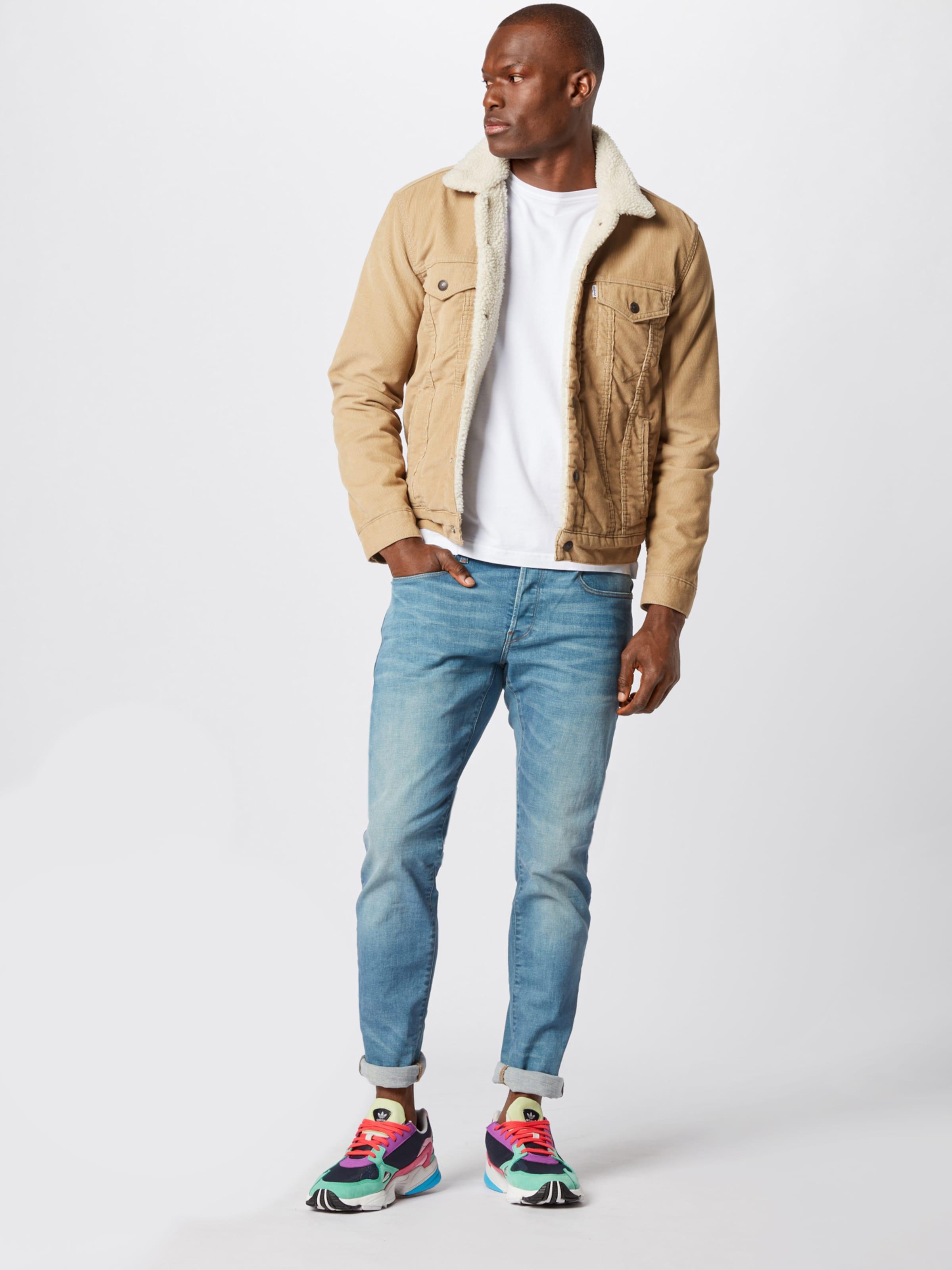 Jeans In Denim star G Slim' Raw '3301 Blue DE9H2WI