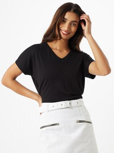 VILA Koszulka w kolorze czarnym: Widok z przodu