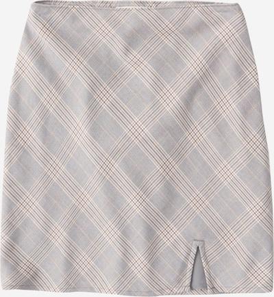 Abercrombie & Fitch Rok in de kleur Beige / Grijs / Wit, Productweergave