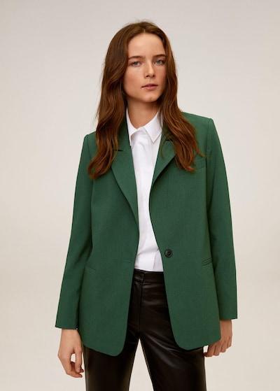MANGO Blazer in grün, Modelansicht