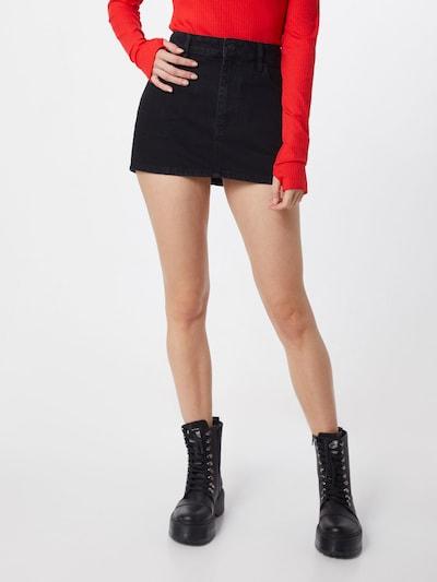 DIESEL Rock 'DE-EISY SKIRT' in schwarz, Modelansicht