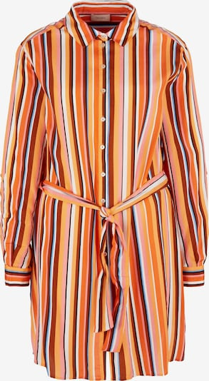 TRIANGLE Longbluse in mischfarben / orange, Produktansicht