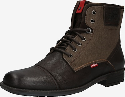 LEVI'S Buty sznurowane 'FOWLER' w kolorze ciemnobrązowym, Podgląd produktu