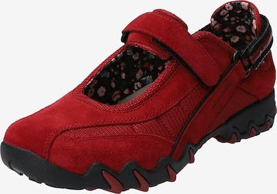 Allrounder Schuhe 'Niro' in rot / schwarz, Produktansicht