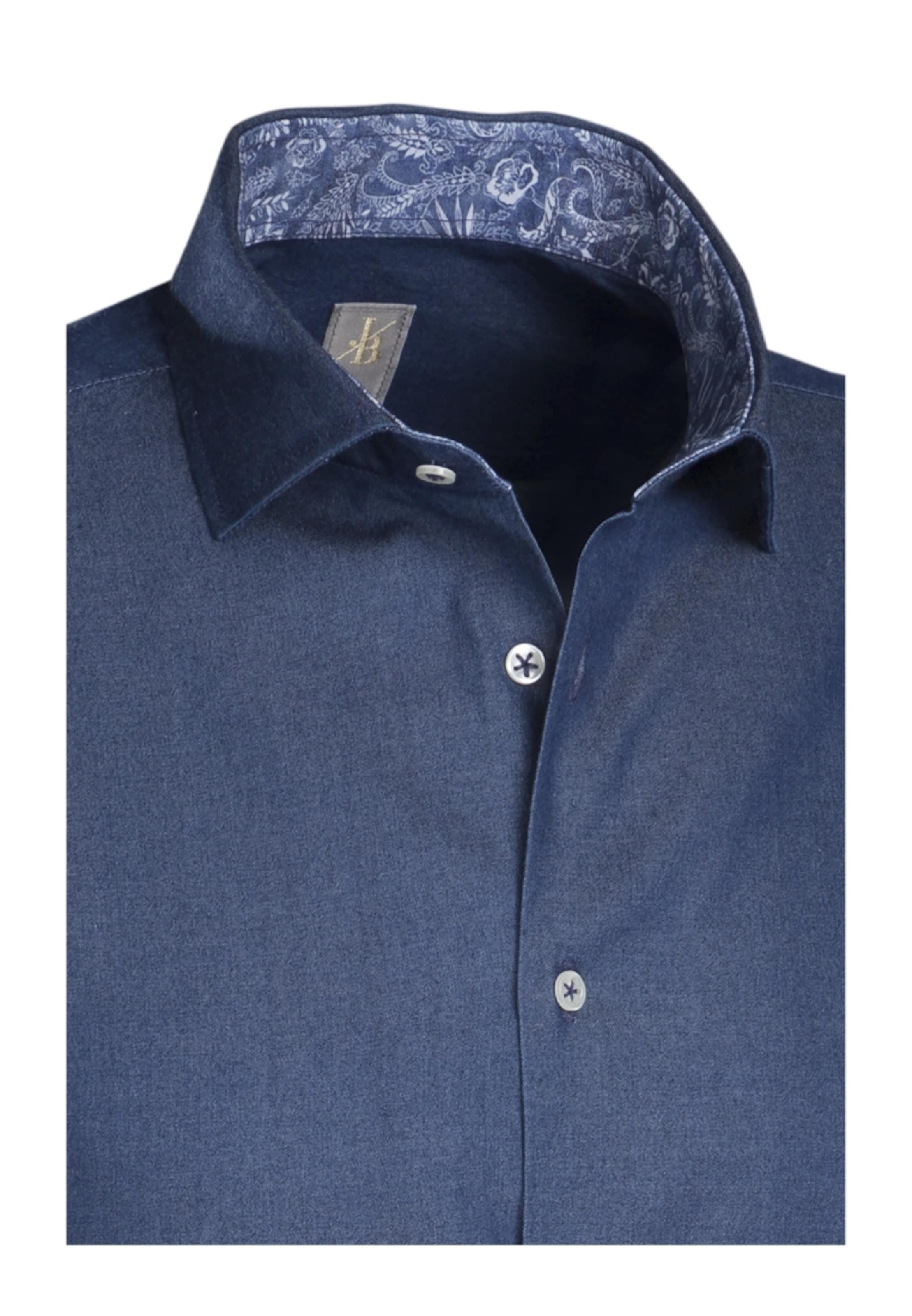 Casual hemd Jacques ' Slim In Blau Fit Britt uFKlc5JT13