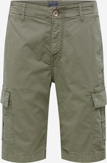 GUESS Spodnie 'BEN' w kolorze oliwkowym: Widok z przodu
