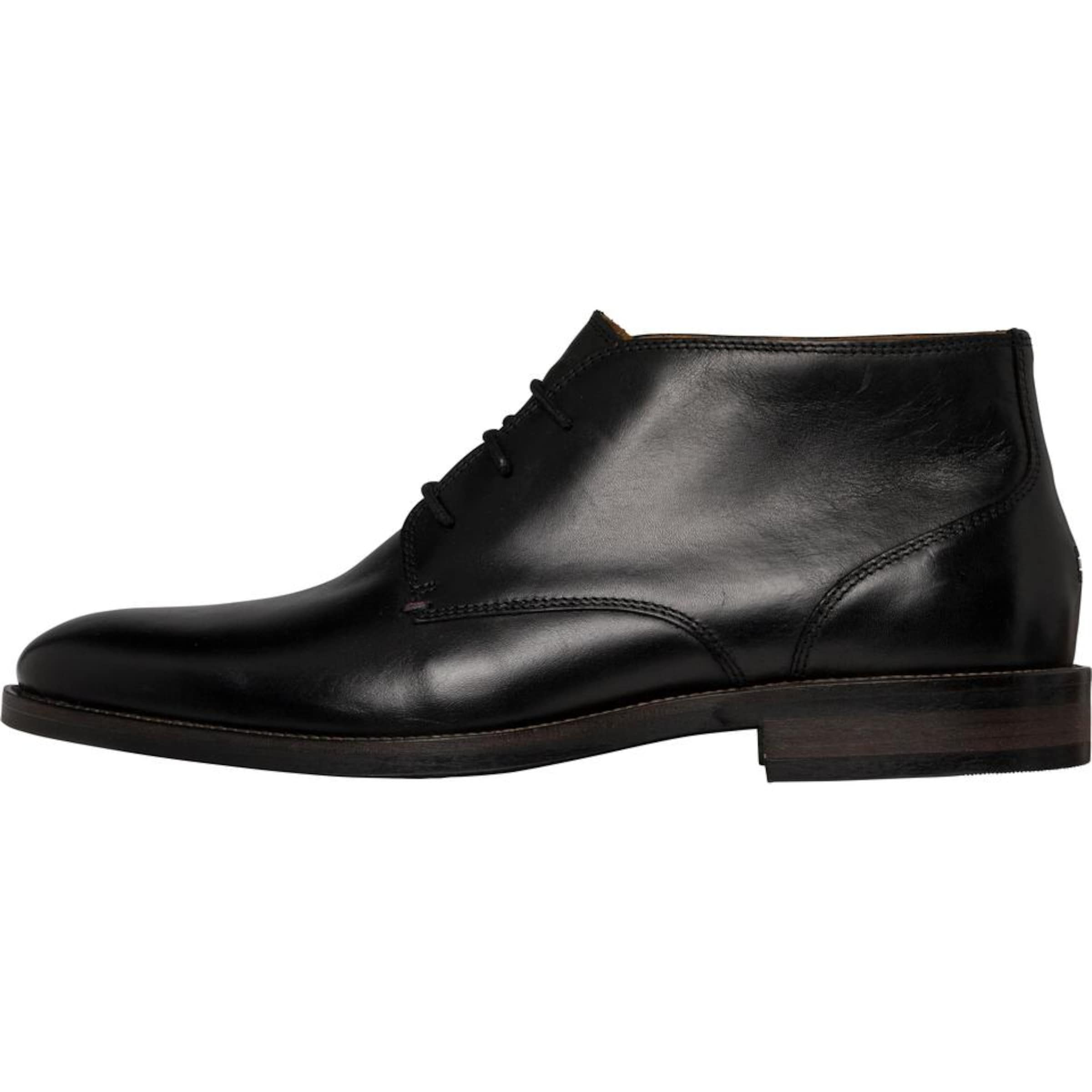 TOMMY HILFIGER | ESSENTIAL Schnürhalbschuh  ESSENTIAL | LEATHER BOOT bfb3fe