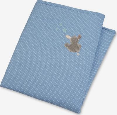 STERNTALER Schmusedecke 'Emmi' in beige / blau / weiß, Produktansicht
