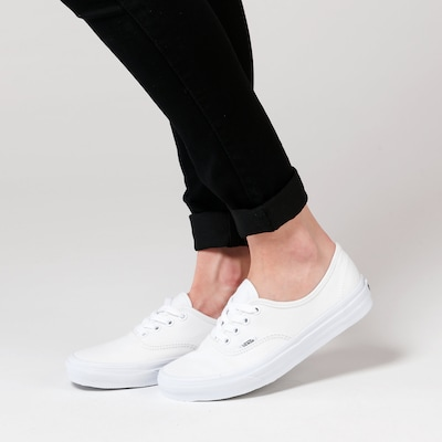 Sneaker bassa 'Authentic' VANS di colore bianco: Vista frontale