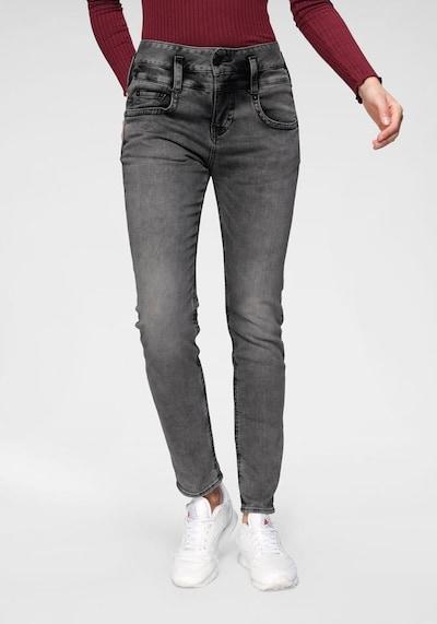 Herrlicher Jeans 'Pitch Mom' in grey denim, Modelansicht