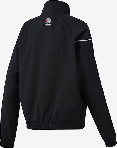 Reebok Classic Jacket 'Classics Track' in schwarz weiß