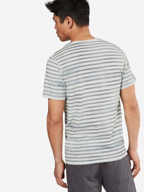 Jack & Jones T-shirt Jorsundown Stripe Ss Crew Neck