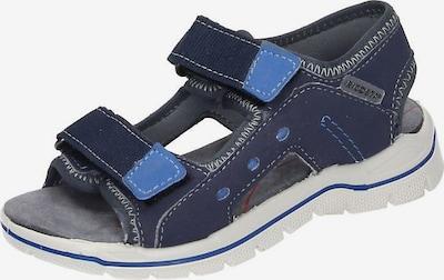RICOSTA Sandale in nachtblau / blaumeliert: Frontalansicht