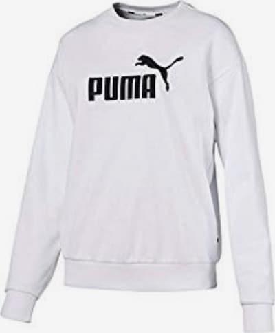 PUMA Sweatshirt ' ESS Logo Crew Sweat TR ' in weiß, Produktansicht