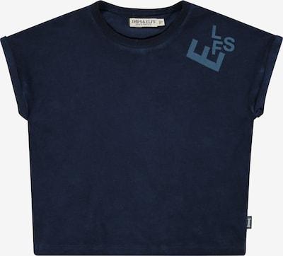 IMPS&ELFS T-shirt 'Durham' in nachtblau / taubenblau, Produktansicht