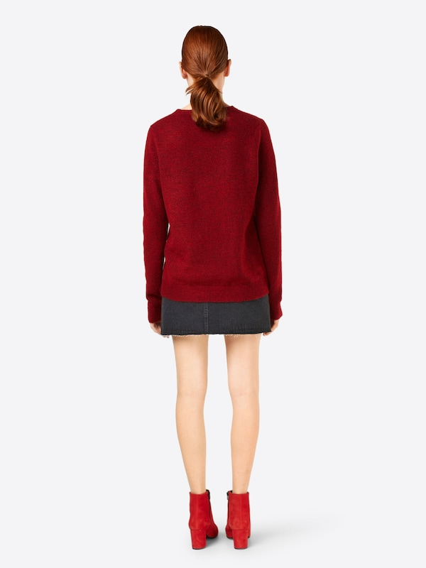 Modström Pullover 'Sheena o-neck' in in in rot  Neu in diesem Quartal 06a431
