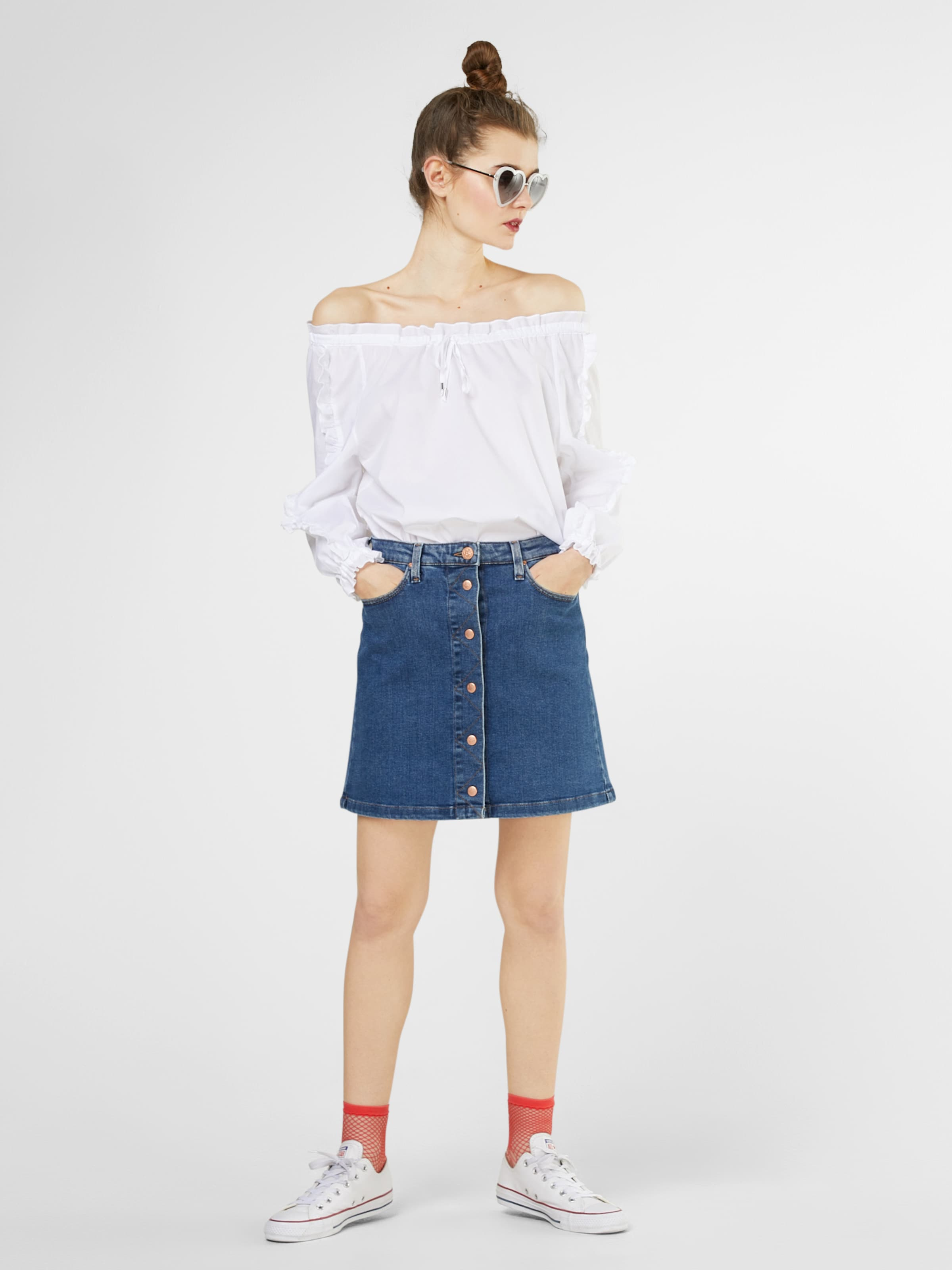 shoulder 'turin' amp;jerfs In bluse Risy Weiß Off DI2YE9WH