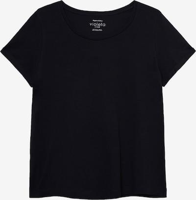 VIOLETA by Mango T-shirt 'Basi' en noir, Vue avec produit