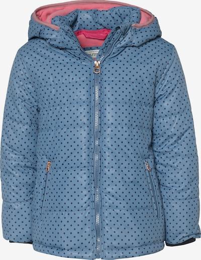 Outburst Winterjacke in blau / pink / schwarz / weiß, Produktansicht