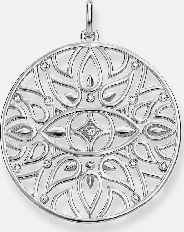 Thomas Sabo Kettenanhänger 'Mandala-Ornamentik, D_PE0002-725-21'
