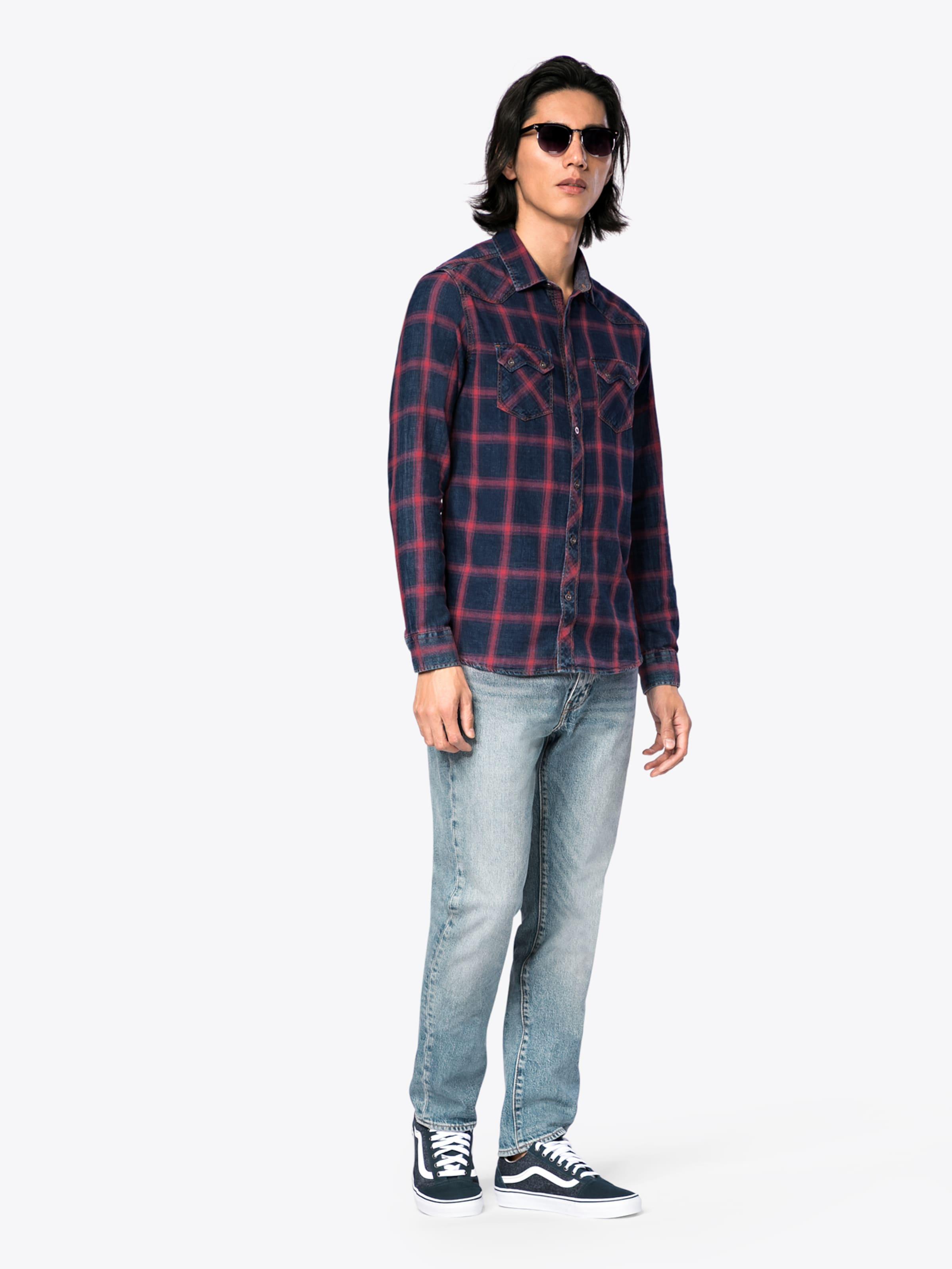Billig Verkaufen Gefälschte Nicekicks Günstig Online Mavi Hemd 'INDIGO CHECK SHIRT' Für Schöne Online 2018 Zum Verkauf 3mE3gD