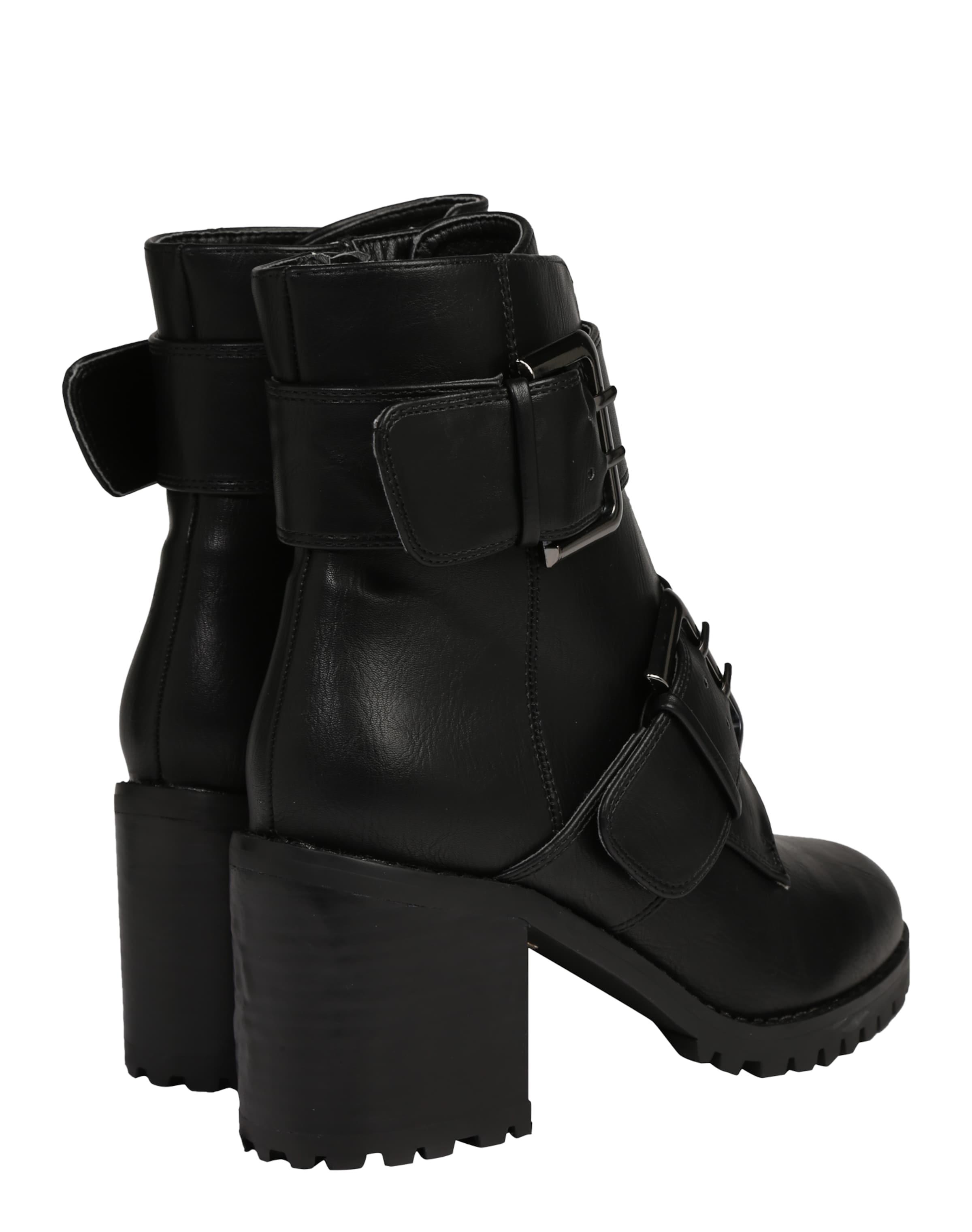 BUFFALO Stiefelette 'Bootie Block Heel' Komfortabel Zu Verkaufen Kaufen Sie Ihre Lieblings Verkauf Erstaunlicher Preis 3Nr0qK