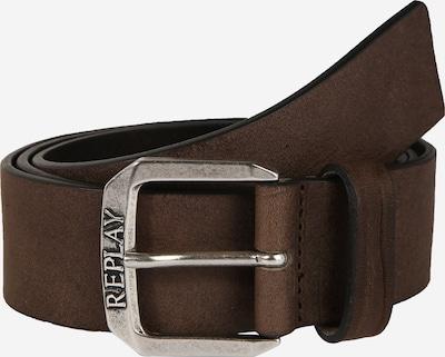 REPLAY Gürtel 'Ledergürtel III' in dunkelbraun, Produktansicht