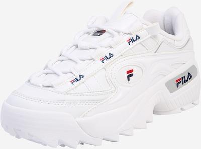 FILA Baskets basses en bleu marine / rouge / blanc, Vue avec produit