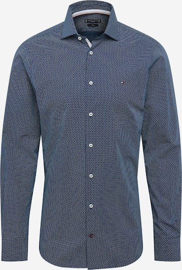 Tommy Hilfiger Tailored Hemd 'Poplin' in navy / weiß, Produktansicht