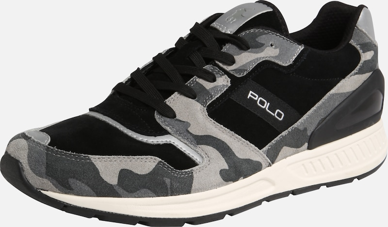 Sneakers Polo 'train KleurenZwart Laag 100' Gemengde Ralph Lauren In EDIHW29