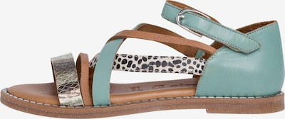 TAMARIS Sandale in grün, Produktansicht