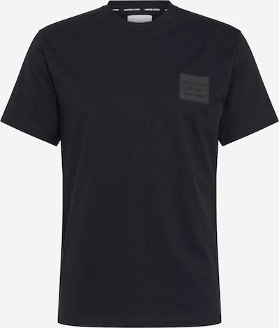 Tricou THE KOOPLES SPORT pe negru: Privire frontală