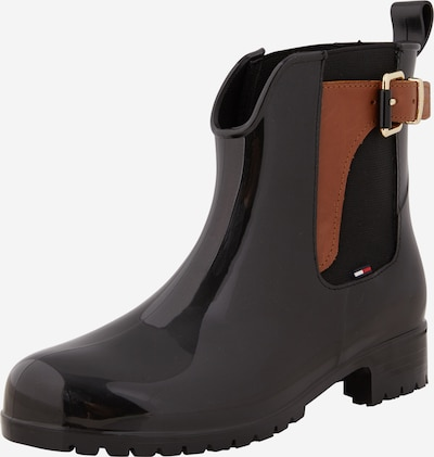 TOMMY HILFIGER Chelsea boots 'Oxley' in black, Item view