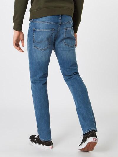 JACK & JONES Jeans 'JJITIM JJORIGINAL AM 815' in blue denim: Rückansicht