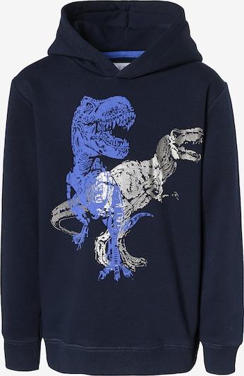 STACCATO Sweatshirt in blau / nachtblau / silber, Produktansicht