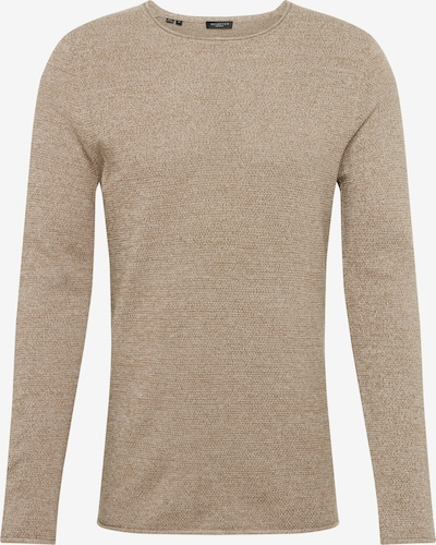 SELECTED HOMME Pullover in beige, Produktansicht