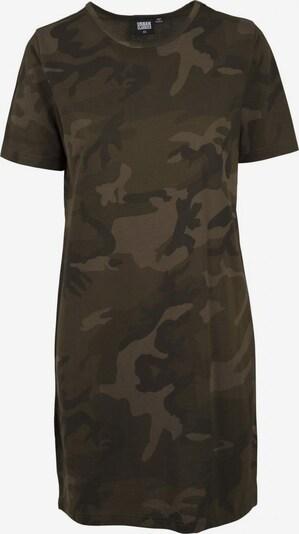 Urban Classics Tee-Dress in khaki / oliv, Produktansicht